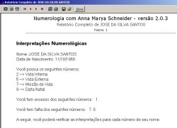 software numerologia